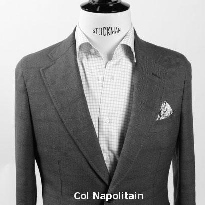 Col napolitain costume