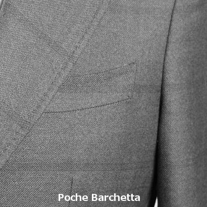 Poche de costume Barchetta