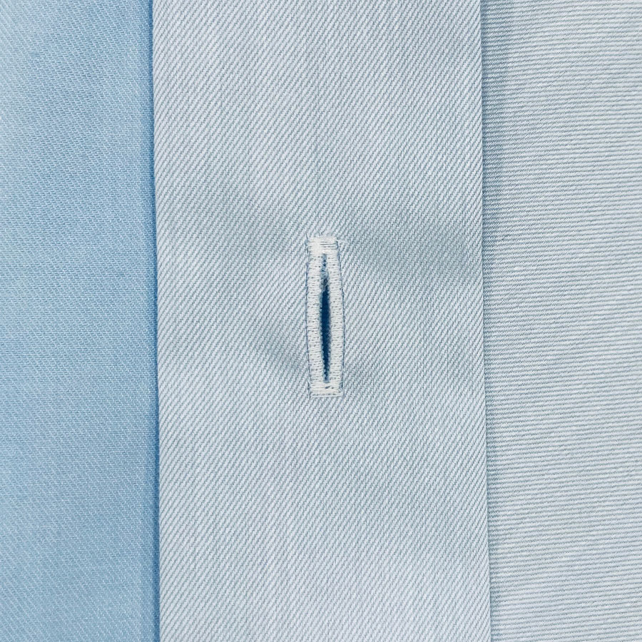 Boutonnière chemise sur mesure